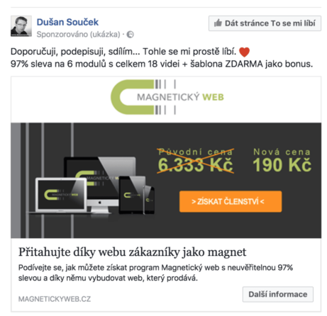 Nejlepší Facebook reklamy, co mají společné?