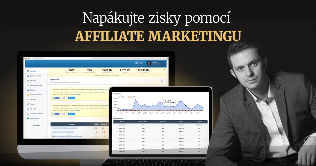 Napákujte zisky pomocí affiliate marketingu