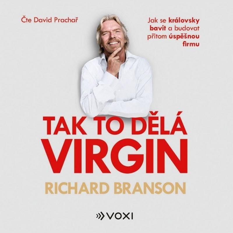 Audio kniha Tak to dělá Virgin - Richard Branson