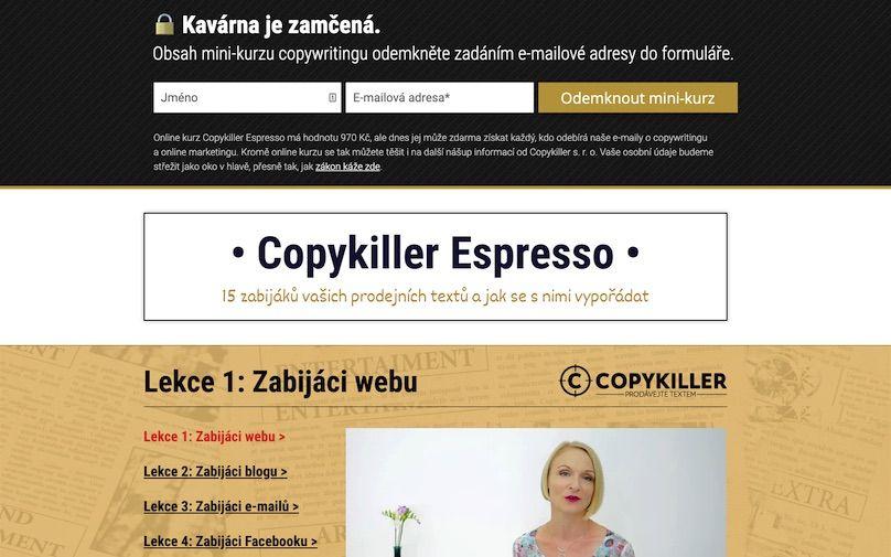 tvorba webu copykiller lp2